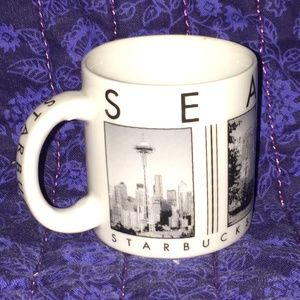 Starbucks Mug Mini-Seattle City Scenes 2003